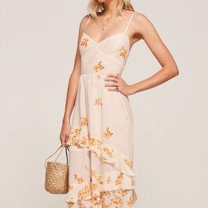 Reformation Floral Sasha Dress